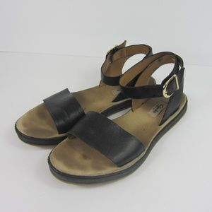 2e6eea0db83 Clarks Black Ankle Strap Sandals